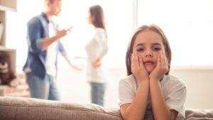 Los niños en la separación