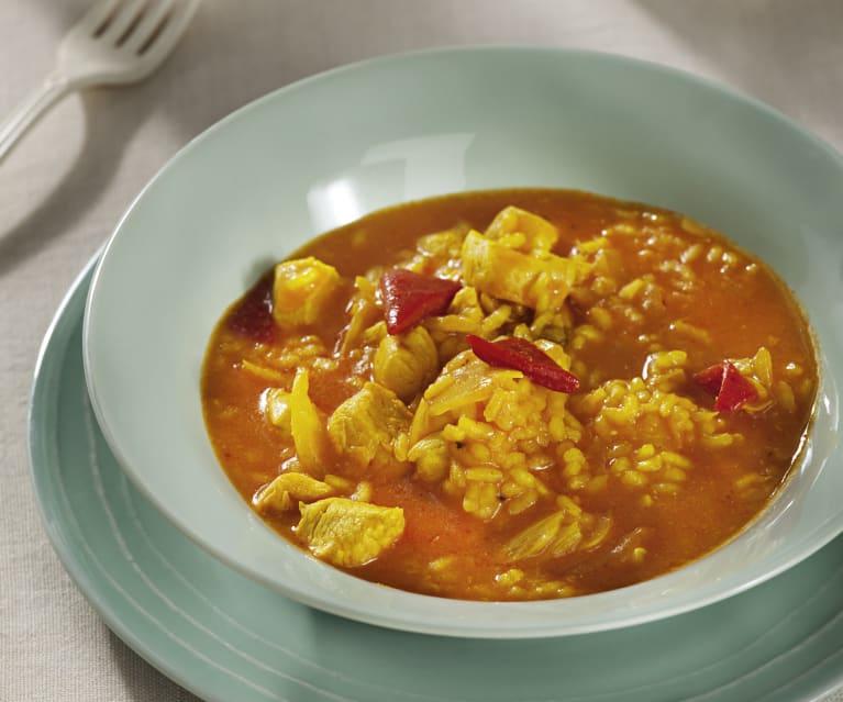 Receta del arroz caldoso