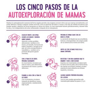 La autoexploración de mama salva vidas