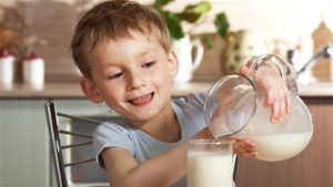 Alergia a la lactosa en niños