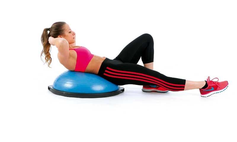 El bosu: mejora tu estado físico