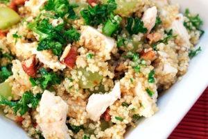 Receta de quinoa con pollo Thermomix