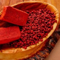 Planta medicinal achiote