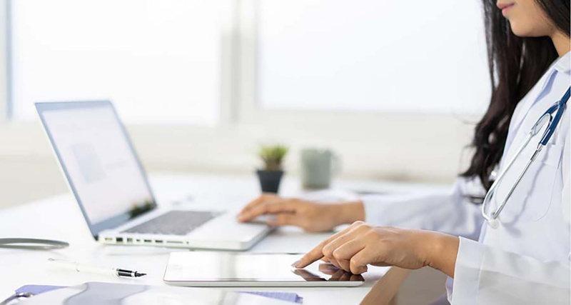 Consultas médicas en la red