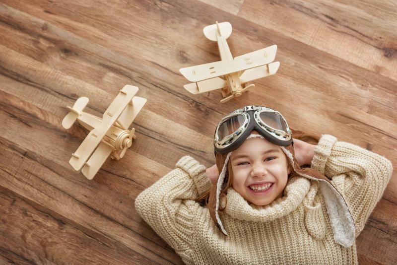 Los juguetes de madera son muy beneficiosos para niños