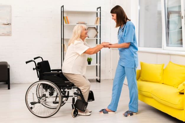 Cómo solicitar plaza en una residencia para mayores